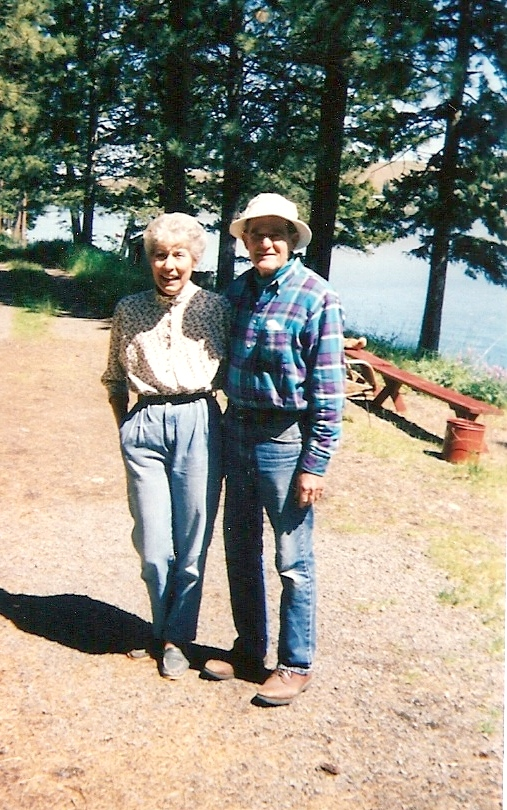 Carol and Walt in their later years