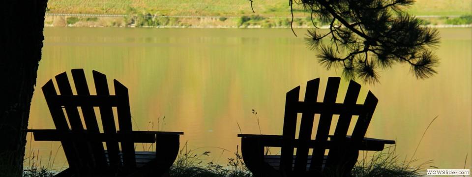 Lakeside seating
